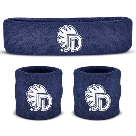 Custom Sweatband Sets (1 Headband and 2 Wristbands)