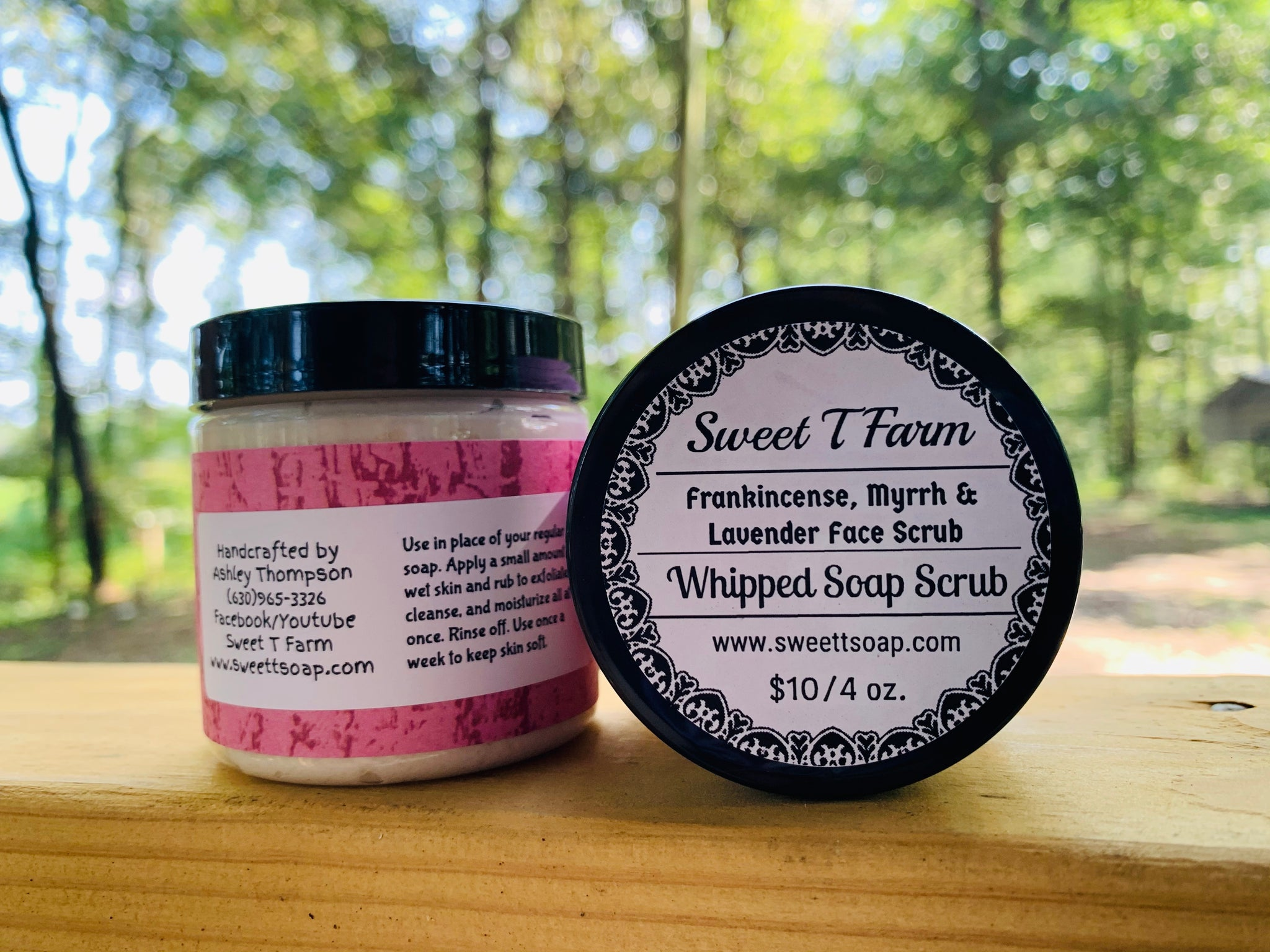 Whipped Soap Face Scrub