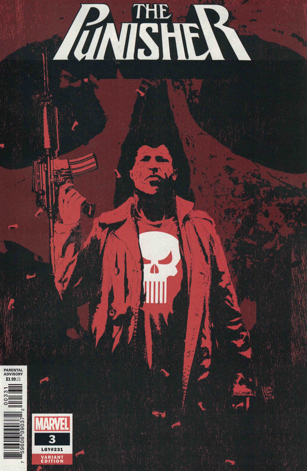 Punisher #3 (2018) 1:25 Sorrentino Variant