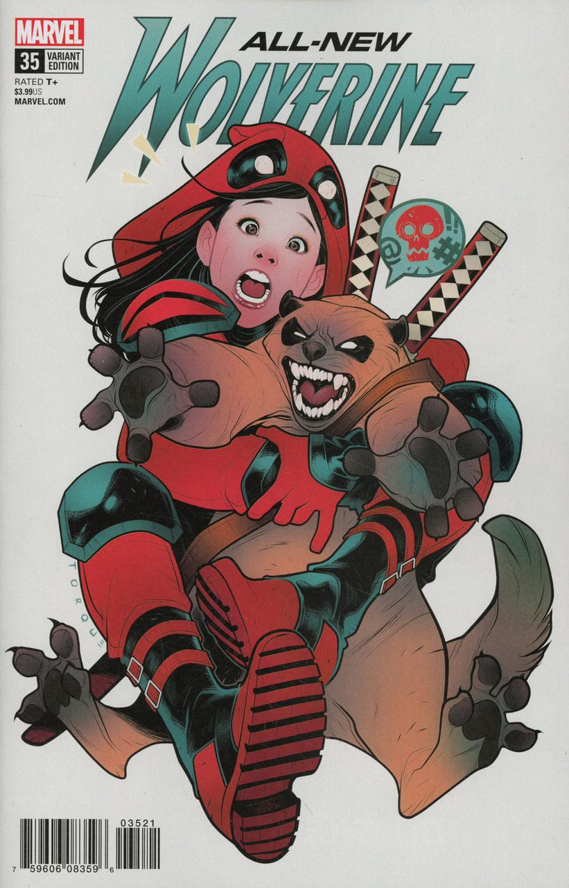All New Wolverine #35 Elizabeth Torque Deadpool Variant