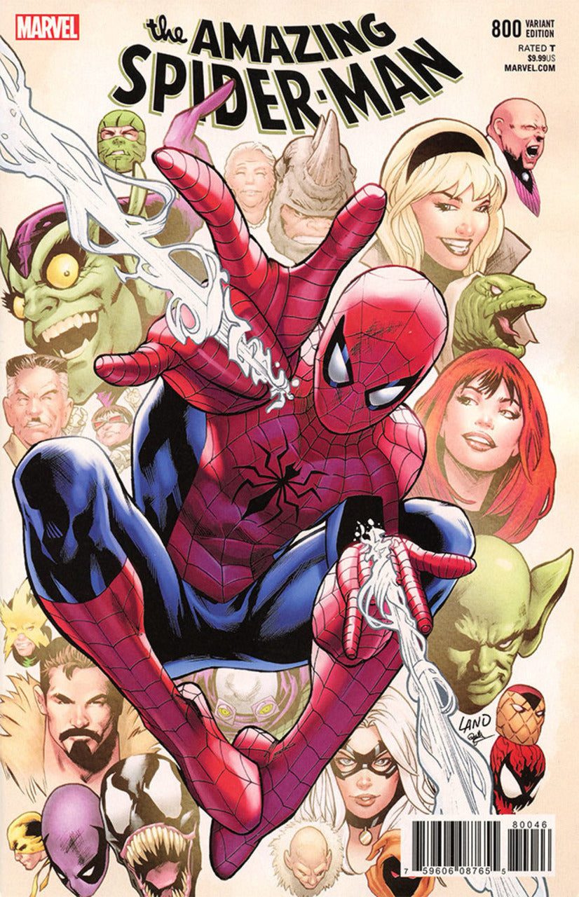 Amazing Spider-Man #800 Greg Land Variant
