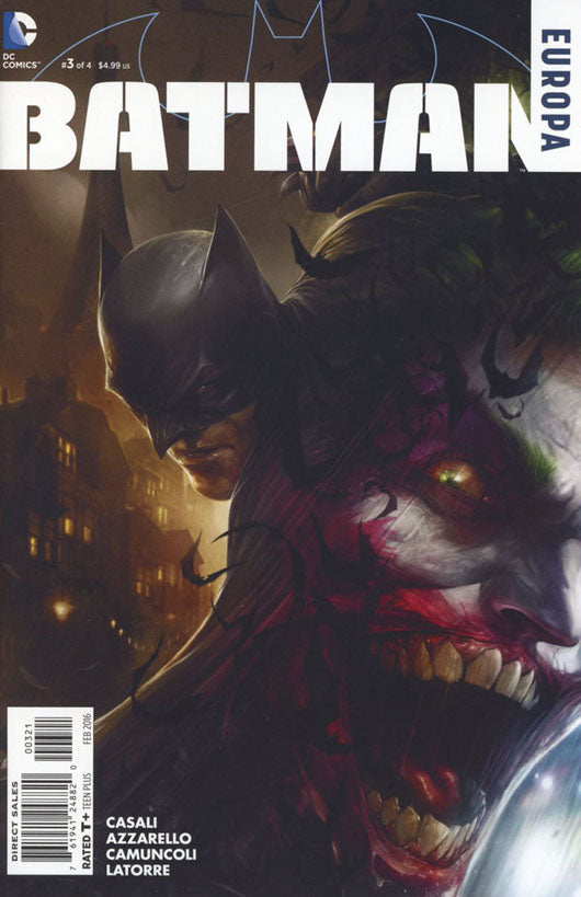 Batman Europa #3 1:25 Francesco Mattina Variant