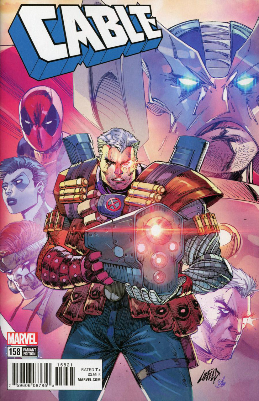 Cable #158 1:25 Liefeld X-Force Variant