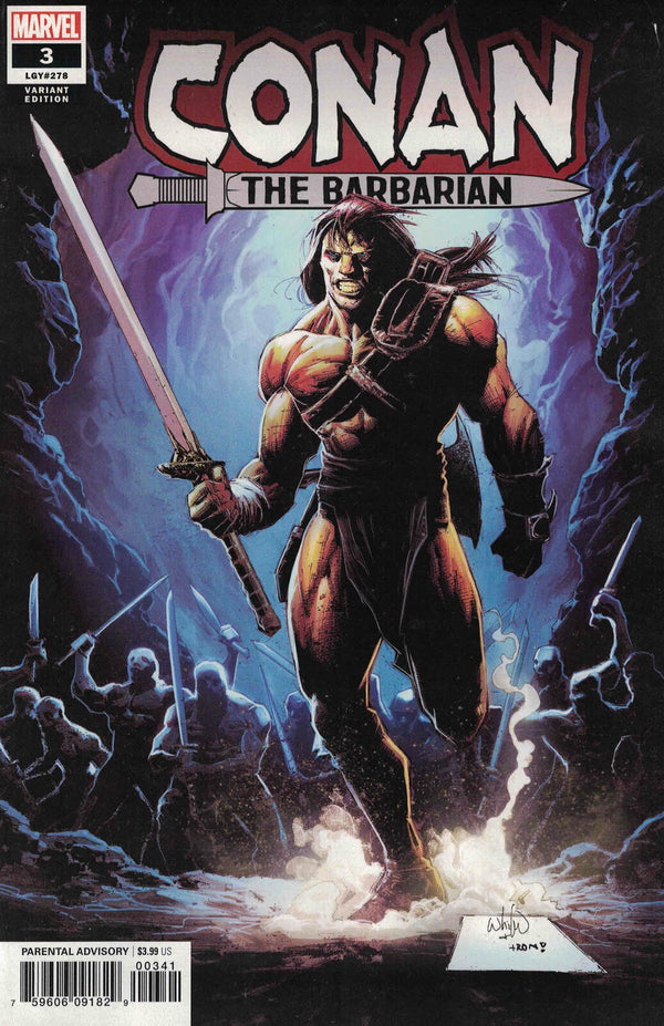 Conan The Barbarian #3 1:10 Whilce Portacio Variant