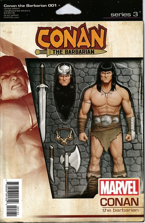 Conan The Barbarian #1 (2019) Christopher Action Figure Variant