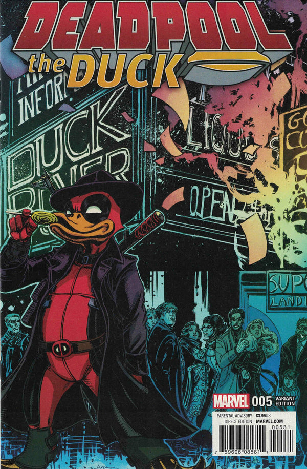 Deadpool The Duck #5 1:25 Joyce Chin Variant