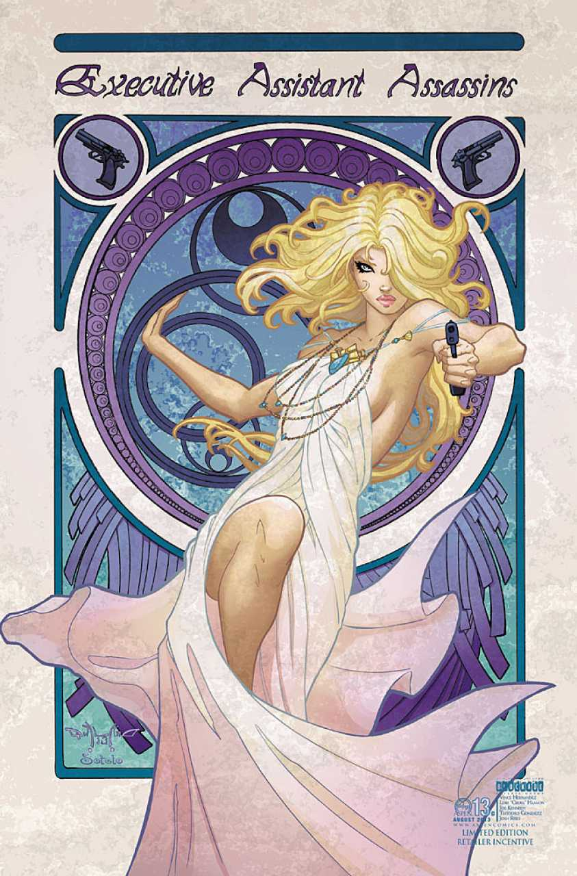 Executive Assistant Assassins #13 Limited Edition Retailer Incentive Variant