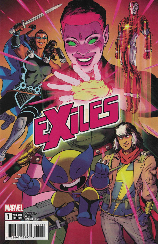 Exiles #1 1:10 Rodriguez Variant