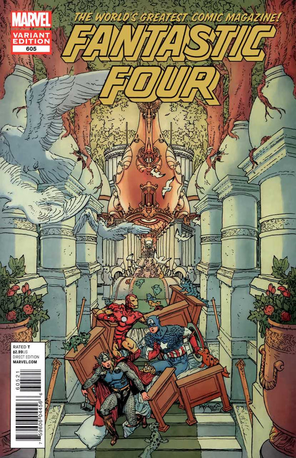 Fantastic Four #605 1:25 Mike Kaluta Variant
