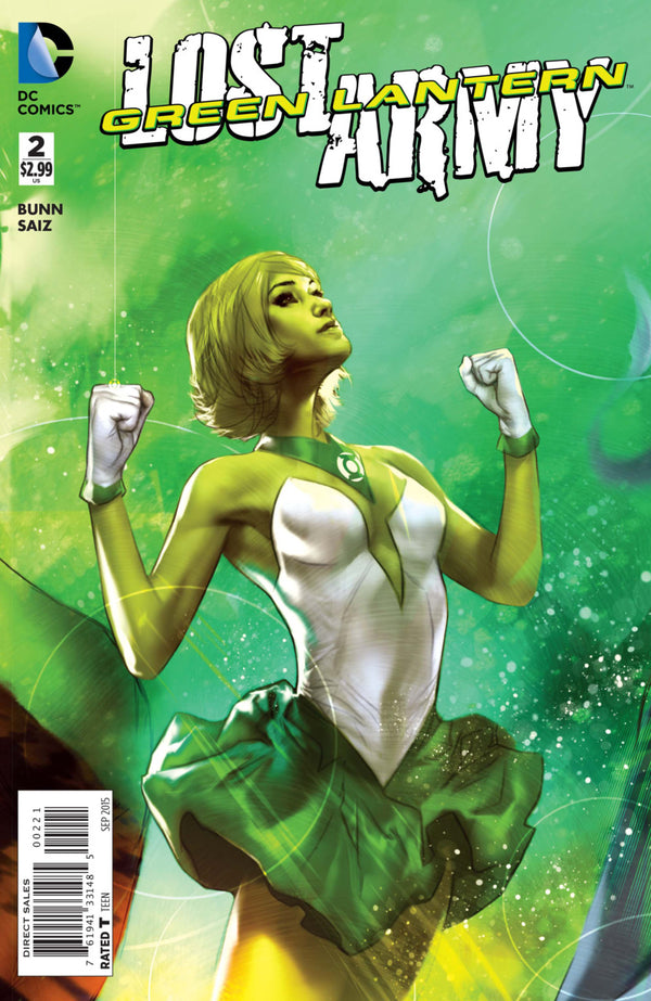 Green Lantern Lost Army #2 1:25 Ben Oliver Variant