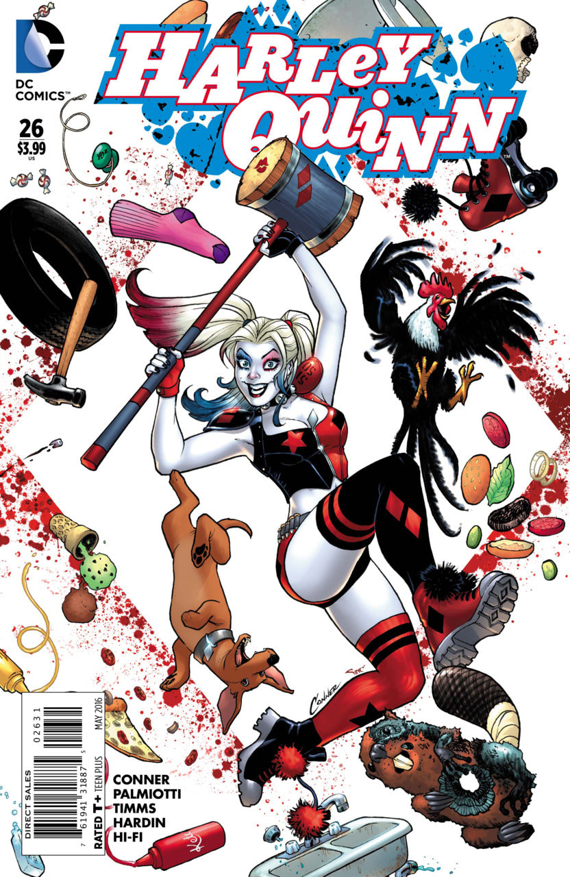Harley Quinn #26 1:25 Conner Variant 1st Red Tool
