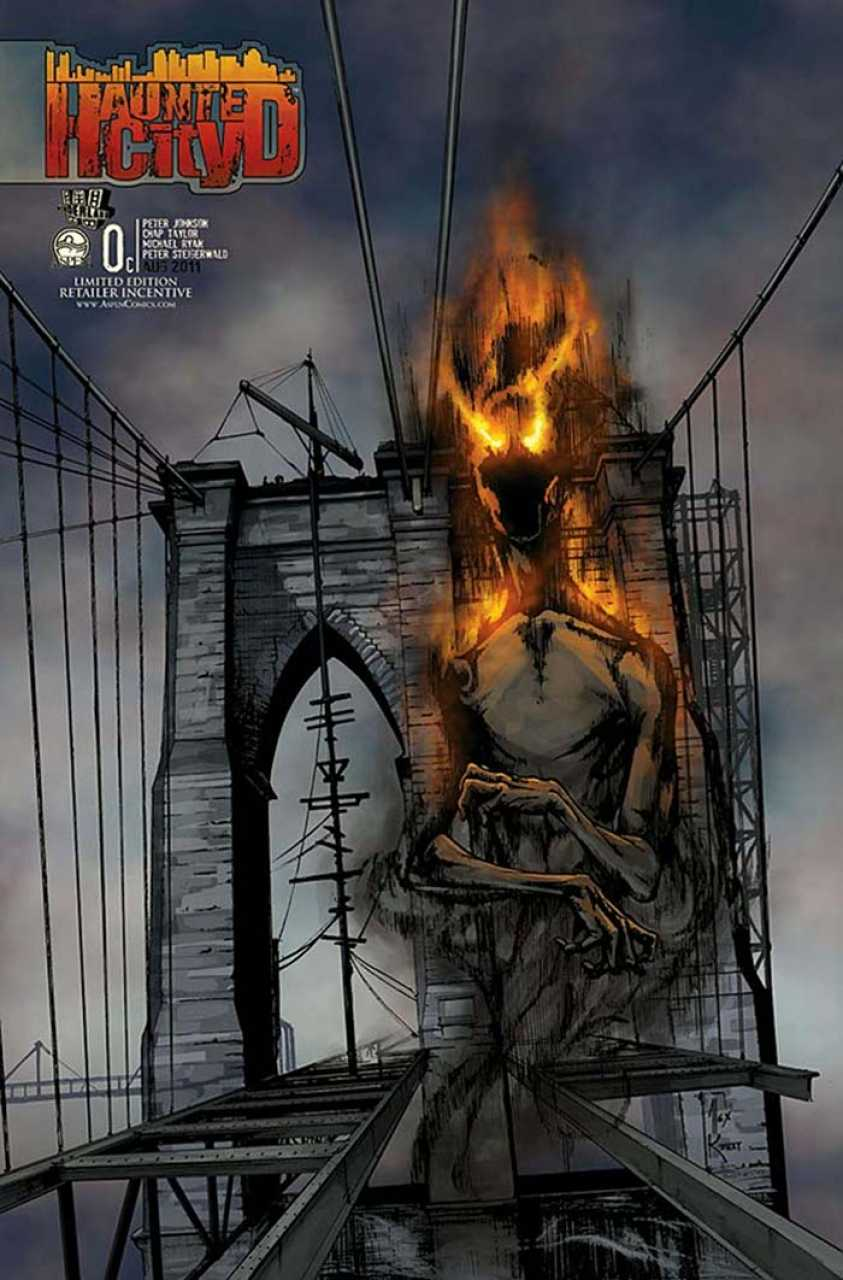 Haunted City #0 Retailer Incentive Variant