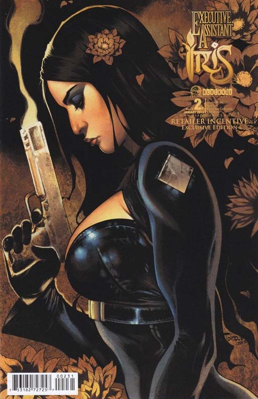 Executive Assistant Iris #2 Vol 3 Retailer Incentive Torque Variant