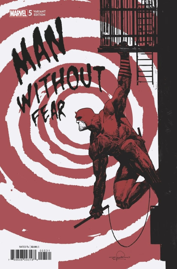 Man Without Fear #5 1:25 Zaffino Variant