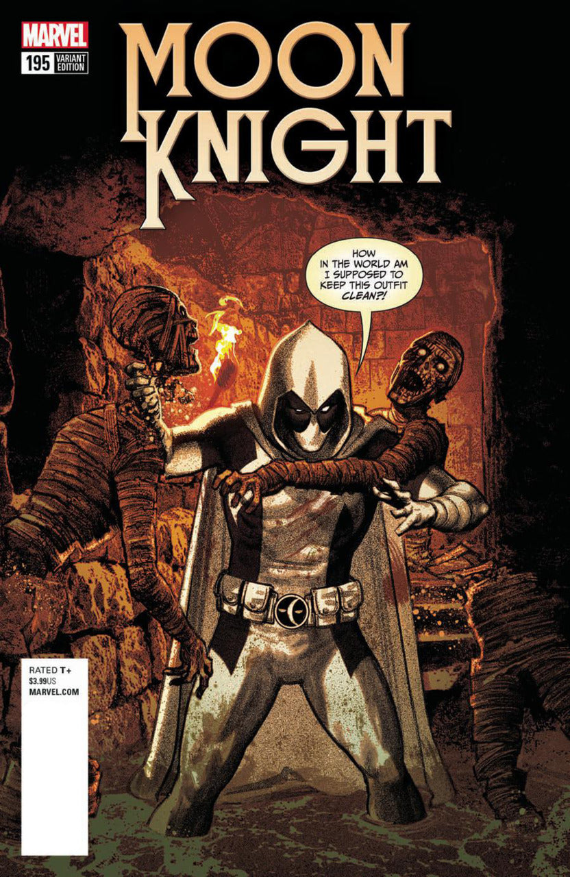 Moon Knight #195 Smallwood Deadpool Variant