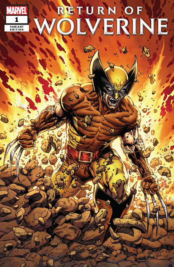 Return Of Wolverine #1 Steve McNiven Brown & Tan Costume Variant