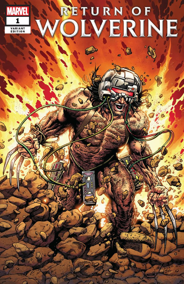 Return Of Wolverine #1 Steve McNiven Weapon X Costume Variant