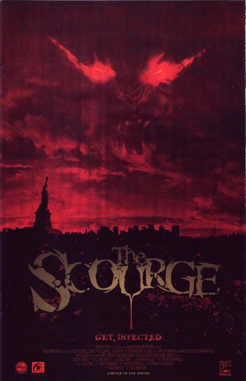 Scourge # 0 SDCC 2010 Movie Poster Variant Ltd 250