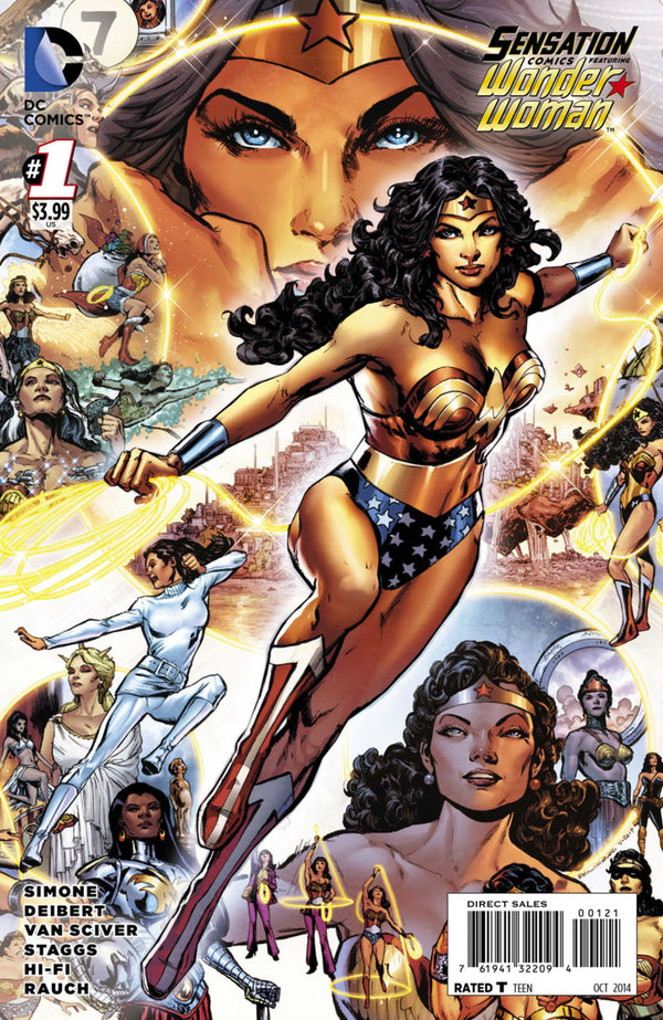Sensation Comics Featuring Wonder Woman #1 1:25 Jimenez Variant