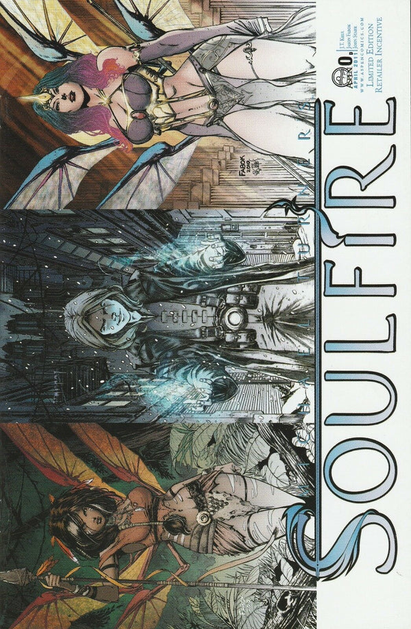 Soulfire #0 Vol 3 Limited Edition Retailer Incentive Variant