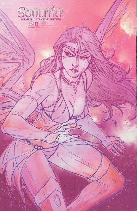Soulfire #0 Retailer Incentive Variant