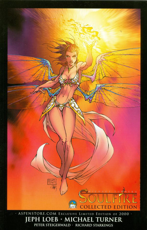 Soulfire Collected Edition Aspen Store Exclusive Variant Ltd 2000
