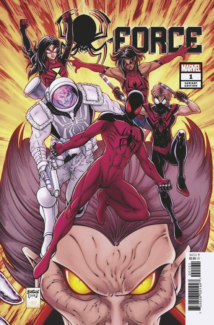 Spider-Force #1 1:25 Robson Variant
