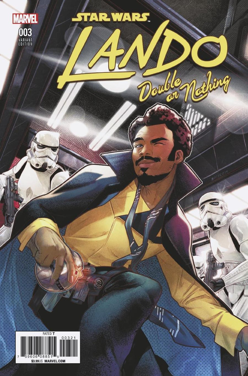 Star Wars Lando Double Or Nothing #3 1:25 Jamal Campbell Variant