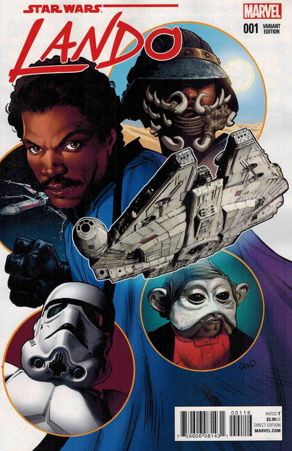 Star Wars Lando #1 1:20 Greg Land Variant