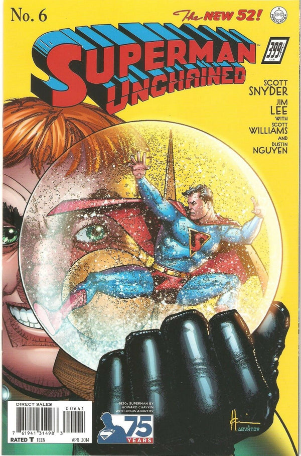 Superman Unchained #6 1:100 Chaykin 1930s Variant