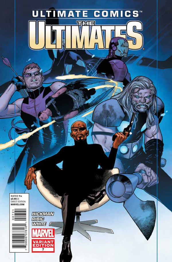 Ultimate Comics The Ultimates #7 1:25 Coipel Variant