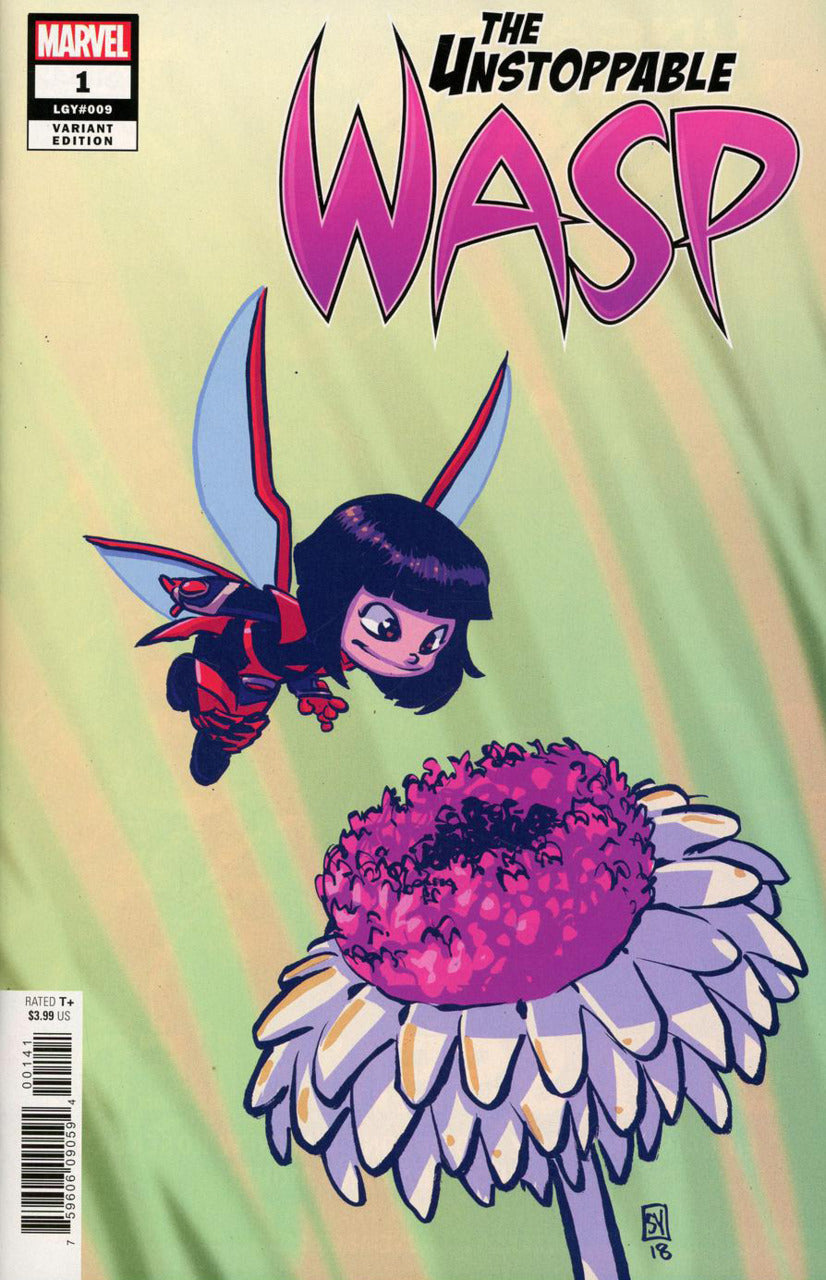 Unstoppable Wasp #1 Scottie Young Variant