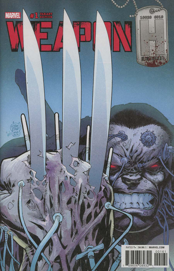 Weapon H #1 Adam Kubert Variant