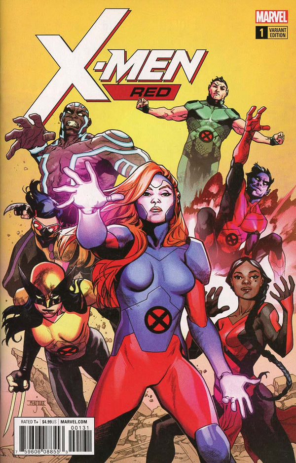 X-Men Red #1 1:25 Asrar Variant