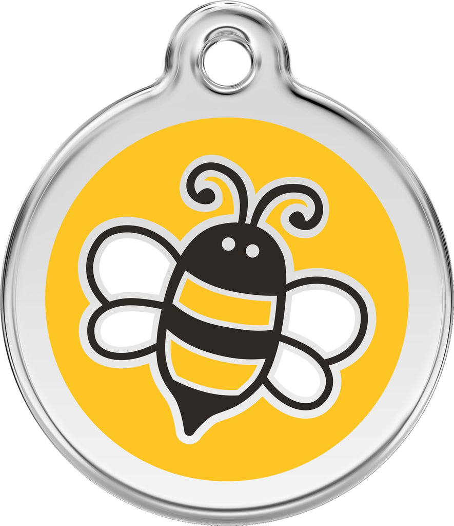 Enamel & Stainless Steel Bee - Multiple Colors Available freeshipping - Love Your Pets