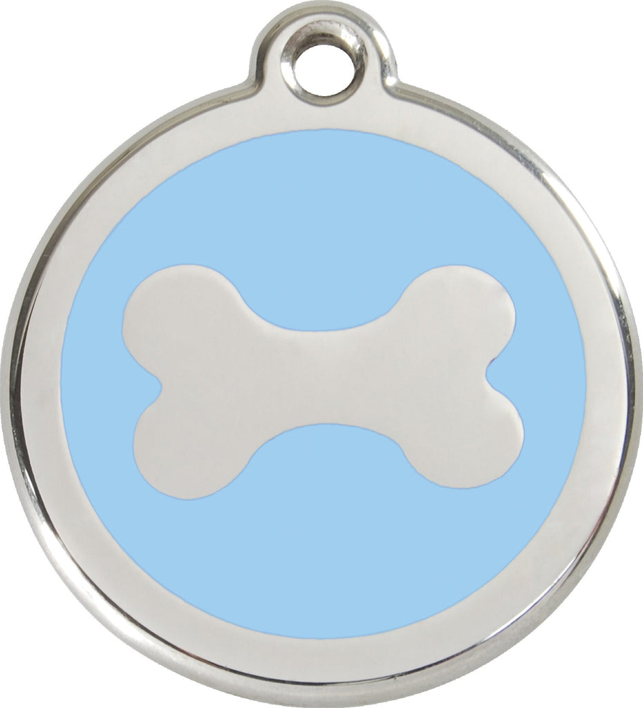 Enamel & Stainless Steel Bone - Multiple Colors Available freeshipping - Love Your Pets