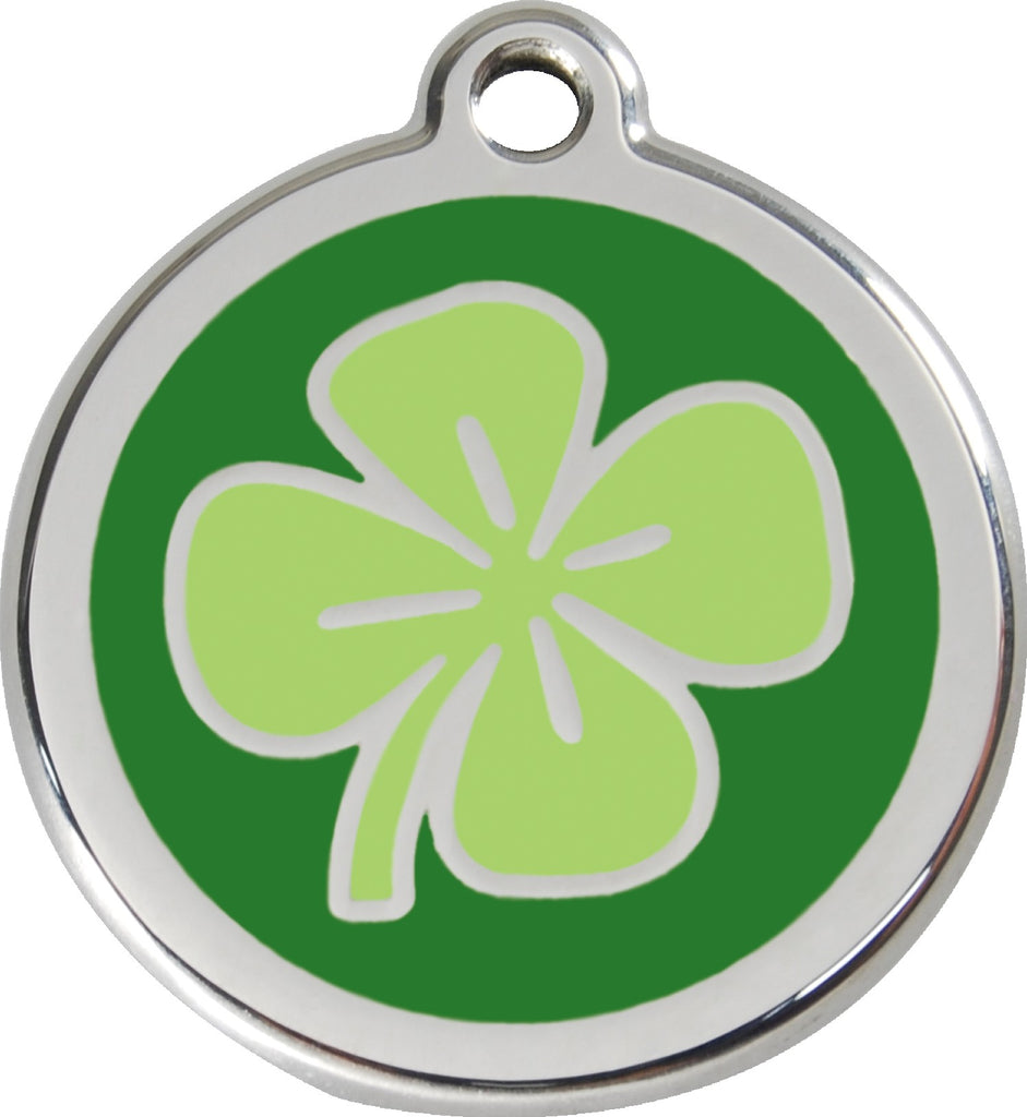 Enamel & Stainless Steel Clover freeshipping - Love Your Pets