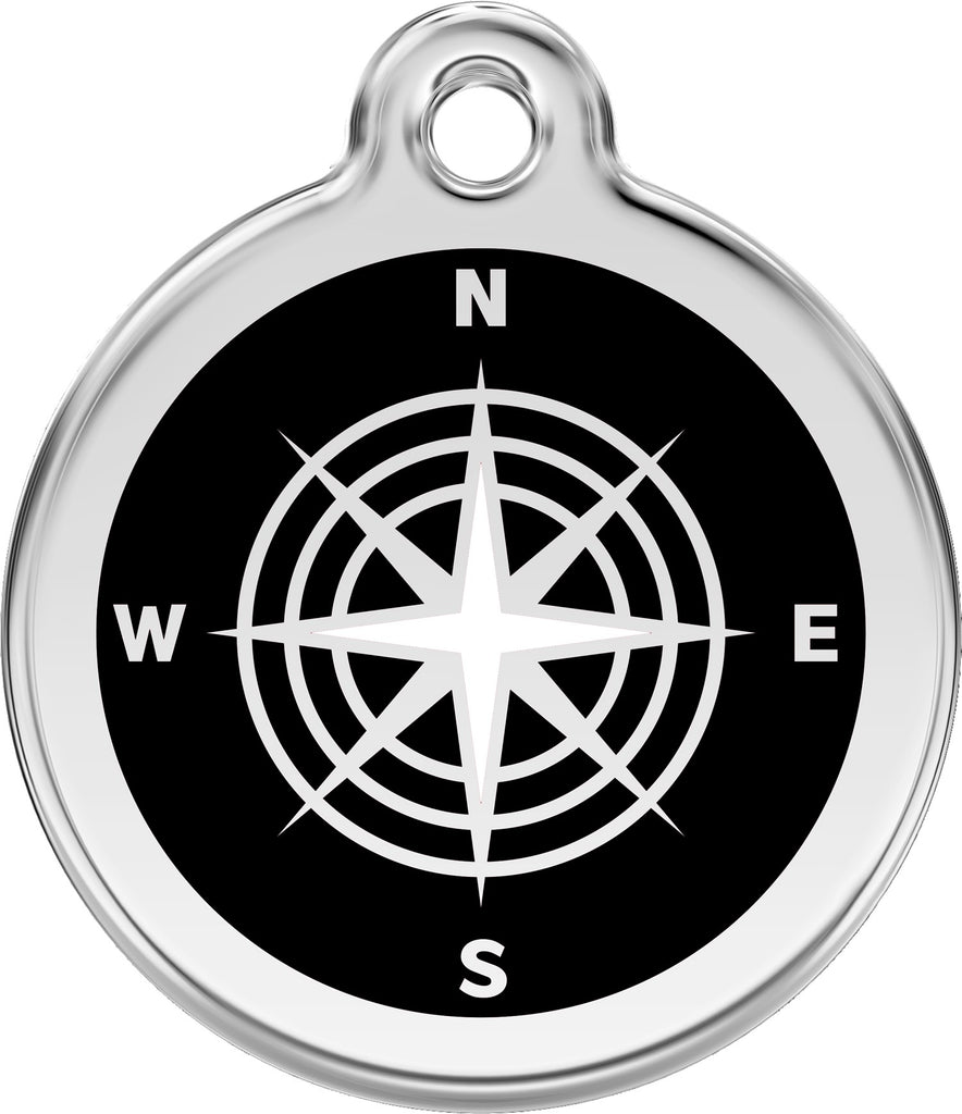 Enamel & Stainless Steel Compass freeshipping - Love Your Pets