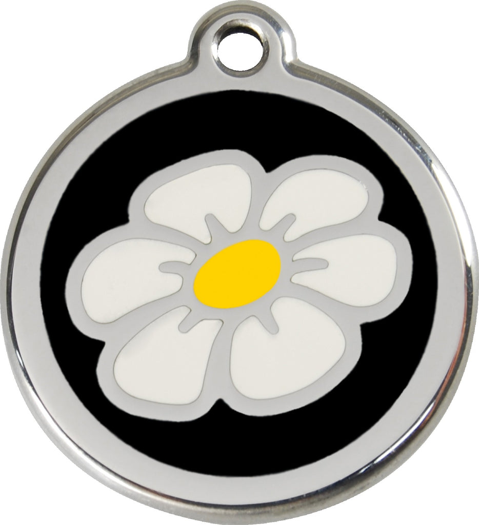 Enamel & Stainless Steel Daisy - Multiple Colors Available loveyp