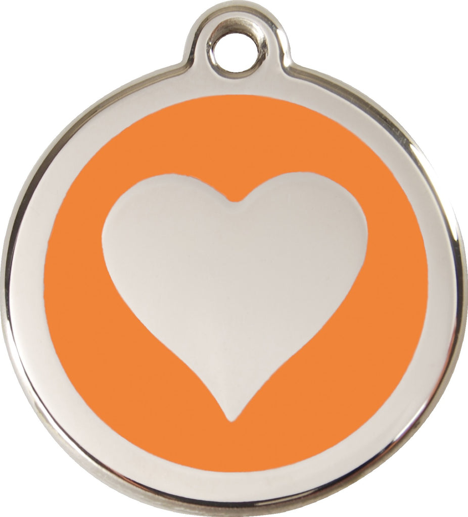 Enamel & Stainless Steel Heart - Multiple Colors Available loveyp