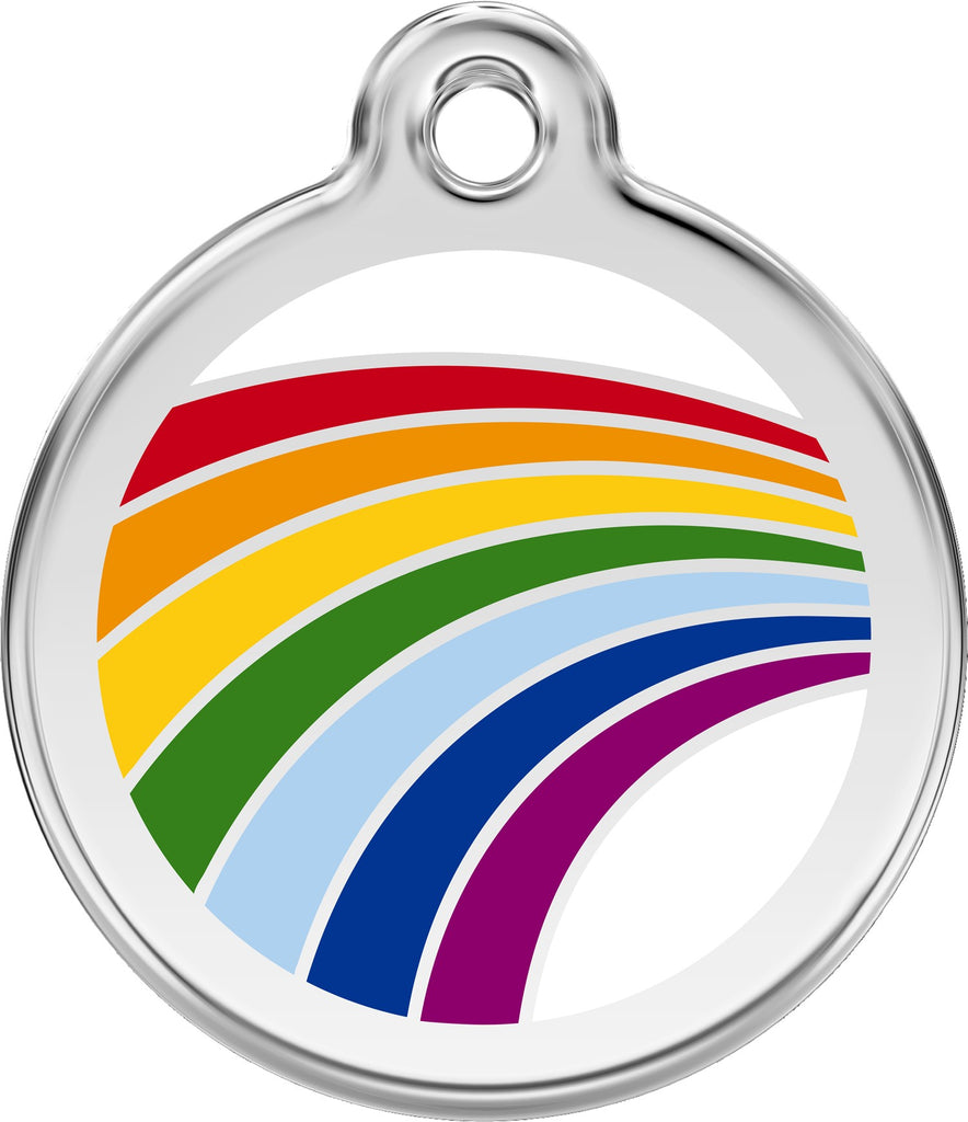 Enamel & Stainless Steel Rainbow loveyp