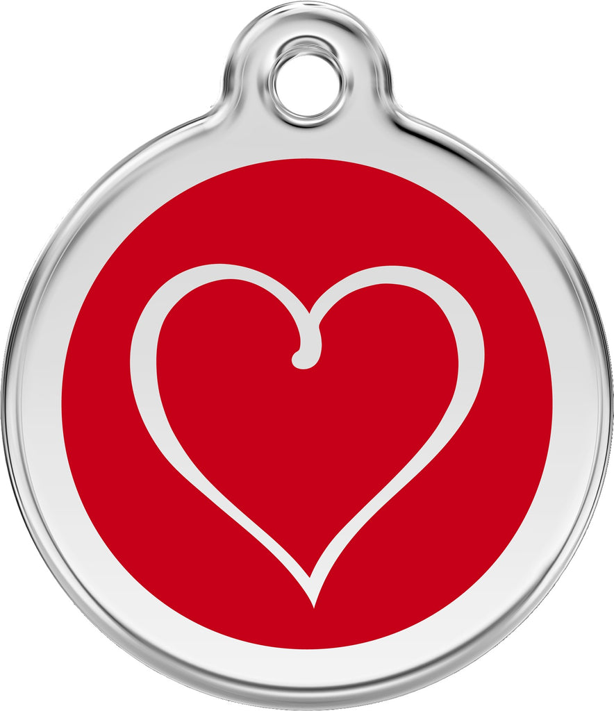 Enamel & Stainless Steel Tribal Heart - Multiple Colors Available loveyp