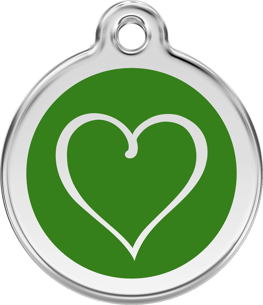 Enamel & Stainless Steel Tribal Heart - Multiple Colors Available freeshipping - Love Your Pets