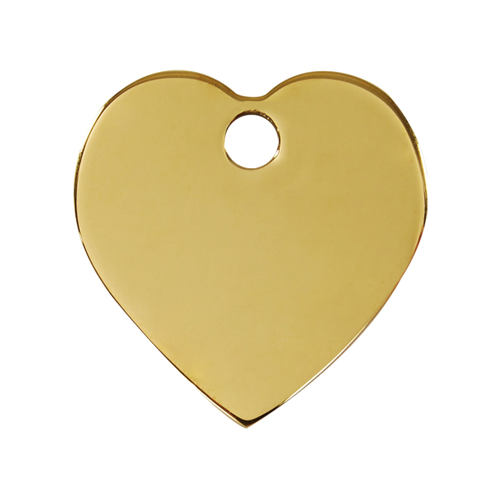 Premier Brass Heart freeshipping - Love Your Pets