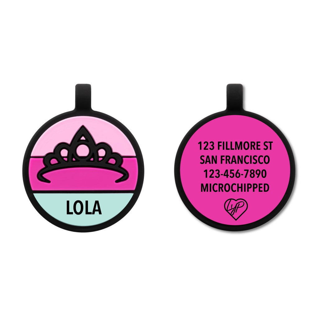 Soundless Princess Pet Tag loveyp
