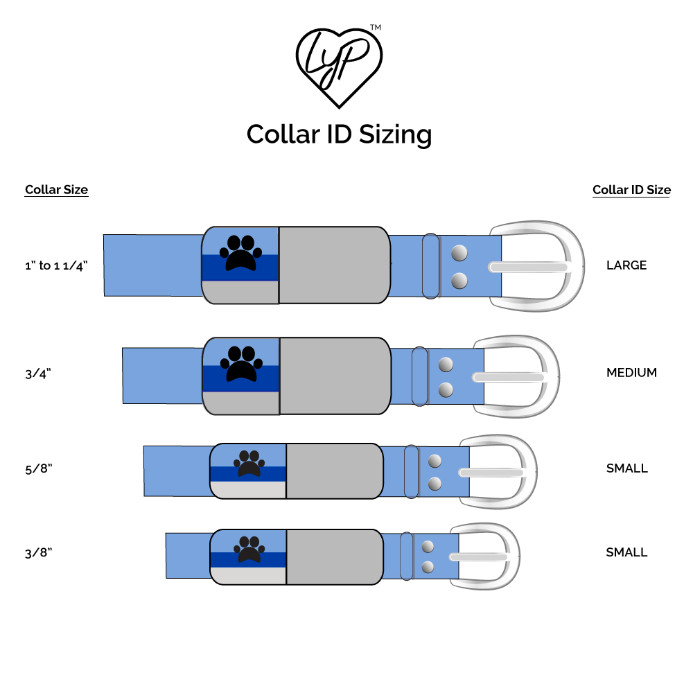 Soundless Solid Pet Collar ID - Multiple Colors Available freeshipping - Love Your Pets
