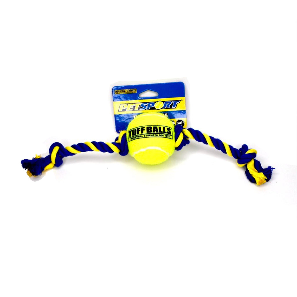 Tuff Ball Tug Rope freeshipping - Love Your Pets