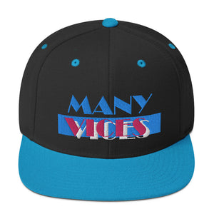 VICES TEAL // SNAPBACK