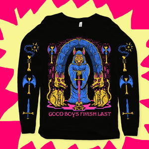 Good Boys Finish Last Longsleeve Tee