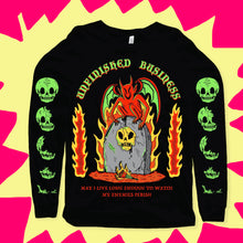Load image into Gallery viewer, Unfinished Business Longsleeve Tee